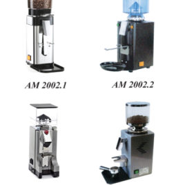 Instant coffee grinders  Series  AM  2002